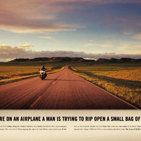 Strytelling Harley Davidson